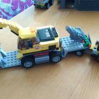 Lego City 4203 Transporter