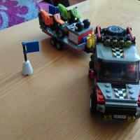 Lego City 4433 Motocross Transporter