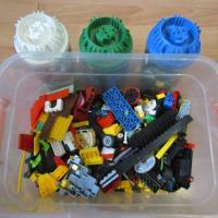 детали LEGO россыпью