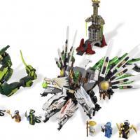 Набор 9450 Лего ниндзяго Крепость и дракон
