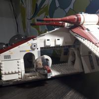 Лего звездные войны республиканский ганшип 75021